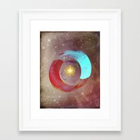 compass Framed Art Prints featuring Compass by Iris Lehnhardt