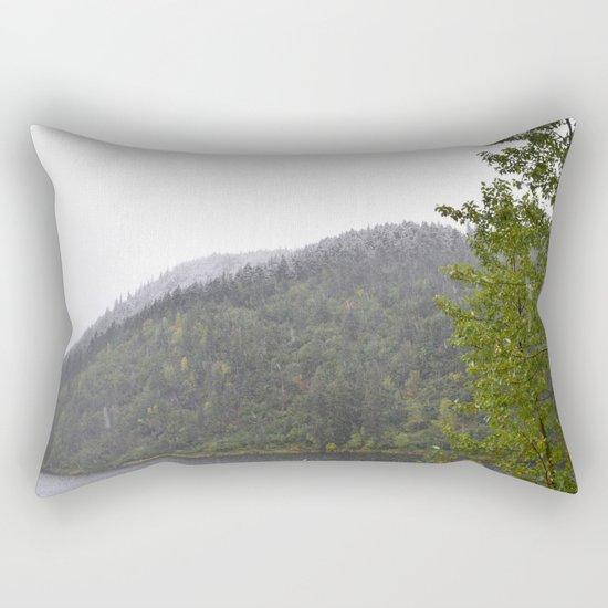 Season's First Snow Rectangular Pillow