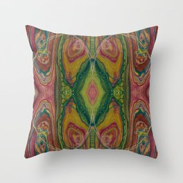 Sublime Compatibility (Intimate Reciprocity) (Reflection) Throw Pillow
