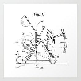 Inertial Mass Motion Art Print