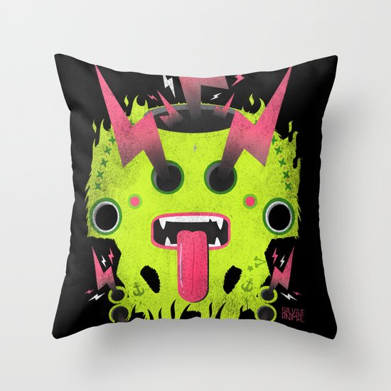 SALVAJEANIMAL Prehispanic I Throw Pillow