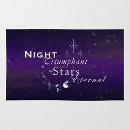 Night Triumphant - Stars Eternal (dark) Rug