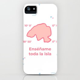 la Isla iPhone Case