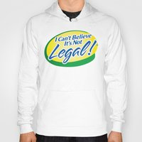 cannabis Hoodies featuring Legalize Cannabis by WeedPornDaily