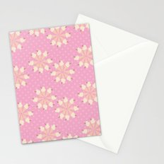 Floral Ice Cream Stationery Cards