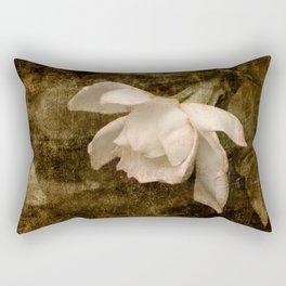 Cape Jasmine Gardenia Flower II Rectangular Pillow