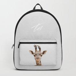 Baby Giraffe Backpack