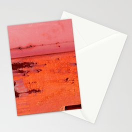Paint Peeling like Mars Stationery Cards