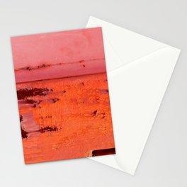 Paint Peeling like Mars Stationery Cards