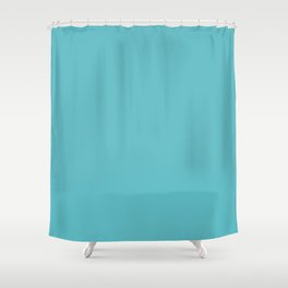 Turquoise. Shower Curtain