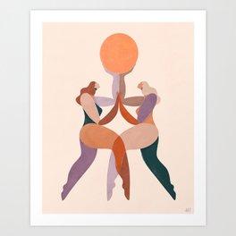 Soul sisters Art Print