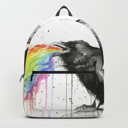 Raven Tastes the Rainbow Backpack