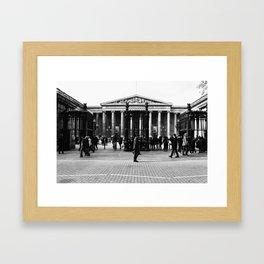 British Museum - Entrance Framed Art Print