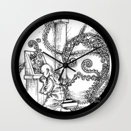 Graven Images - Pantheism Wall Clock