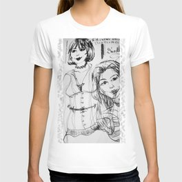 Black & White GingerDoodle T-shirt
