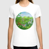 spring T-shirts featuring Spring by Amy Fan