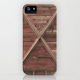 Marks the spot iPhone Case