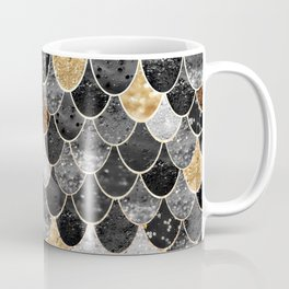 REALLY MERMAID BLACK GOLD Coffee Mug