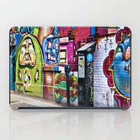 street art iPad Cases featuring Street Art by Photos By Healy