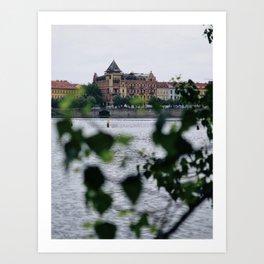 Magical Praha Art Print
