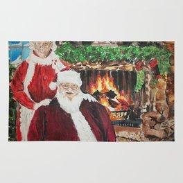 A Cozy Christmas Couple Rug