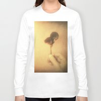 imagine Long Sleeve T-shirts featuring Imagine by Victoria Herrera