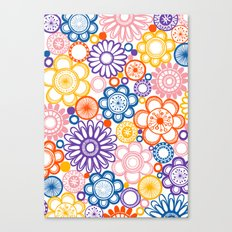 BOLD & BEAUTIFUL quirky Canvas Print