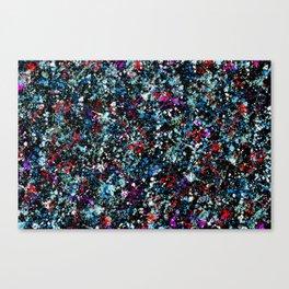 paint drop design - abstract spray paint drops 4 Canvas Print