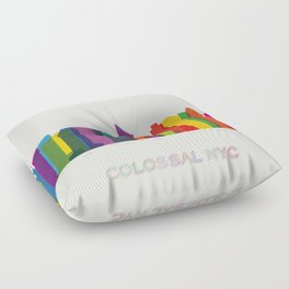 Colossal NYC Floor Pillow