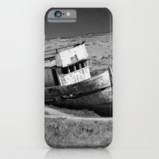 Point Reyes Shipwreck B&W iPhone 6s Slim Case
