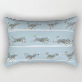 Run Dog, Run! Rectangular Pillow