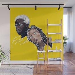 lean on me Wall Mural