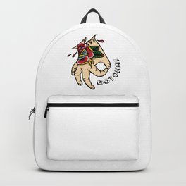 Gotcha! Circle Game Fun Tattoo Backpack
