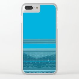 The 1980s Clear iPhone Case
