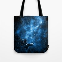 discworld Tote Bags featuring Cosmic Turtle by Crumblin' Cookie