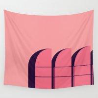 bauhaus Wall Tapestries featuring Bauhaus Archiv by bloooom