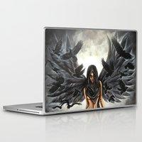dramatical murder Laptop & iPad Skins featuring Lady Murder by Megan Mars