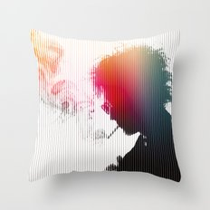 Chaos is a friend of mine Throw Pillow