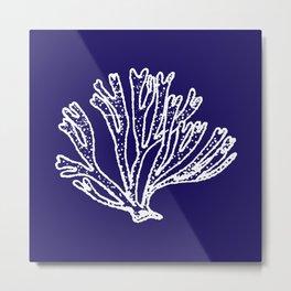 coral branch Metal Print