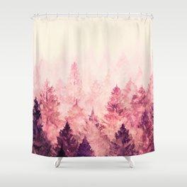 Fade Away III Shower Curtain