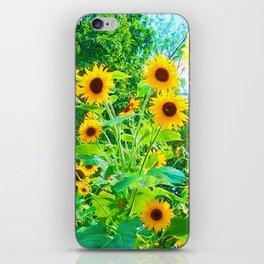 Yellow Splender iPhone Skin