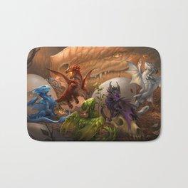 Baby Dragons Bath Mat