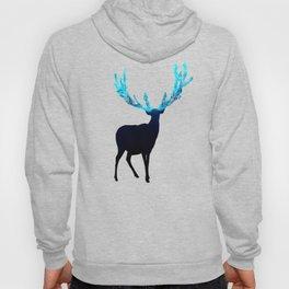 Greenery Deer - Sterling Magenta Hoody