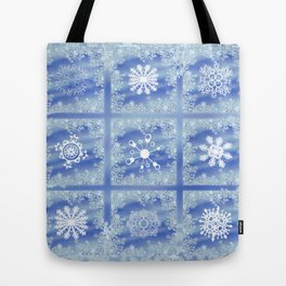 Frosted Panes Tote Bag