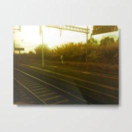 On The Move Metal Print