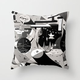 bgbgbhghgb Throw Pillow