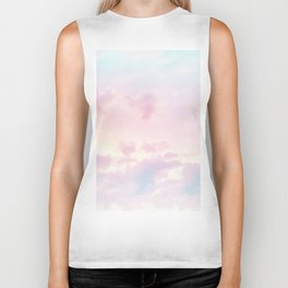 Unicorn Pastel Clouds #2 #decor #art #society6 Biker Tank