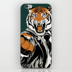 Belligerent Bengal iPhone & iPod Skin
