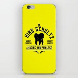 dr King Schultz iPhone Skin