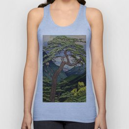The Downwards Climbing Unisex Tank Top